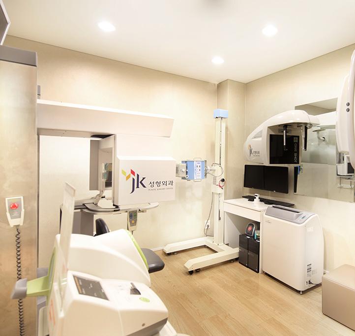 2층 상담센터, 수술전 검사 센터, 디지털 촬영센터 3